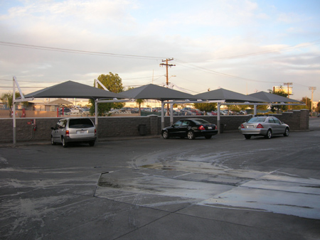 Car dealership shade structures 4