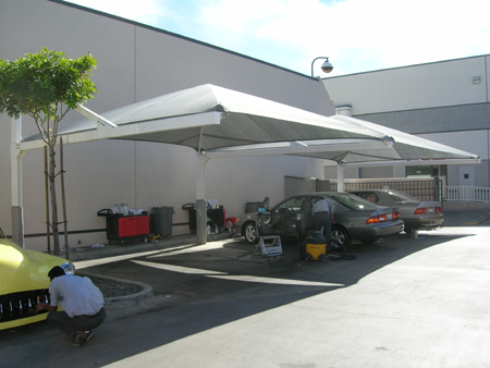 Shade Image Car Detailing - Shade structures canopies shade sails and umbrellas by Southern Hemisphere Shades & Shade Image Car Detailing - Shade structures canopies shade ...