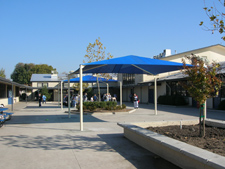 DSA shade structures and canopies