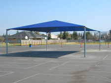 DSA shade structure