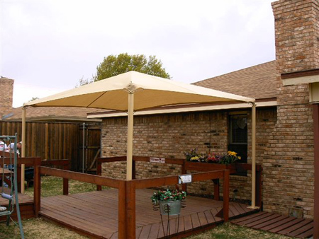 Backyard shade canopy outdoor goods for Shade structures