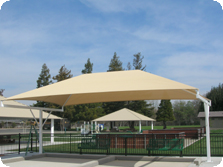 Shade structure - T Post