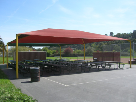 Lunch shade Structure