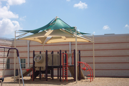 Playground shade structure 9