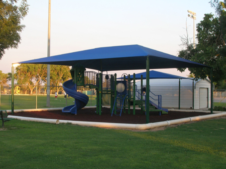 California Public School - Hip Shade Structure