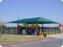 Six Post Shade Structure