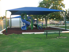 Shade Canopy Structure in Fresno California